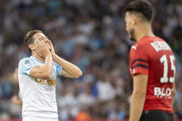 L'OM arrache un nul (2-2) à l'issu du match contre Rennes à domicile, lors de la troisième journée de championnat de France