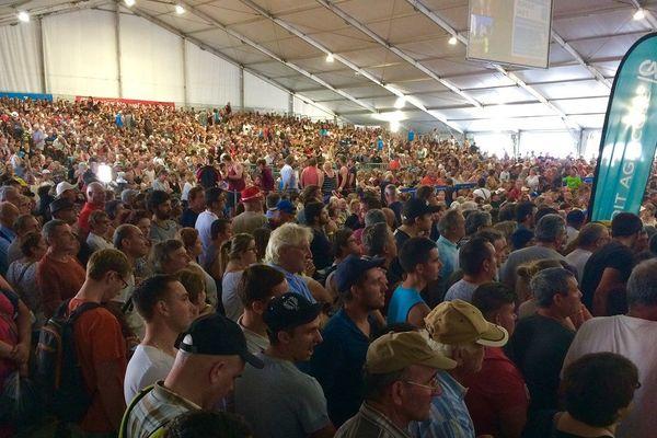 Plus de 60 000 spectateurs ont assisté au mondial de tonte au Dorat