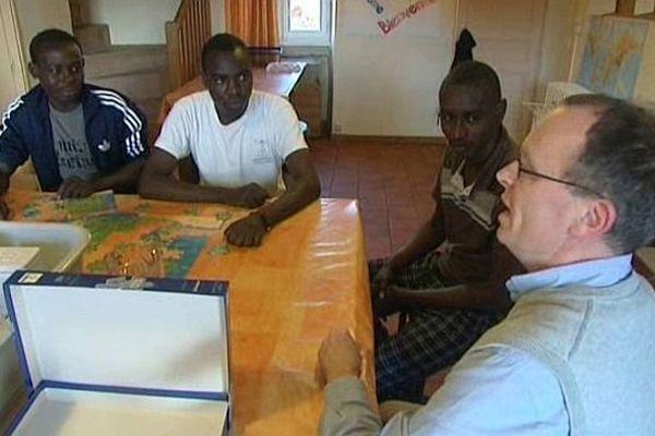 Des réfugiés soudanais ont été accueillis à Taizé, en Saône-et-Loire.