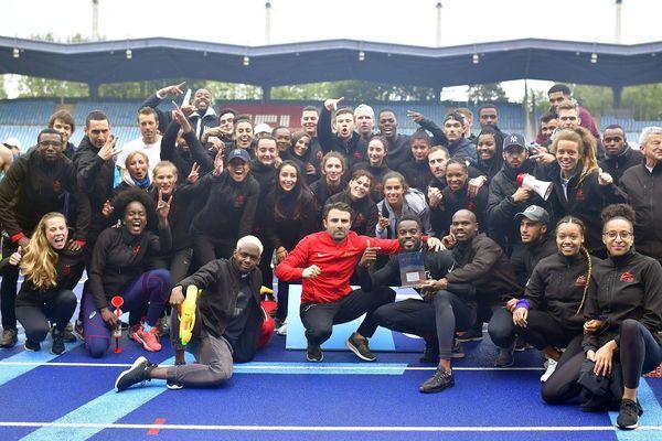Le SCO Sainte-Marguerite a pris la troisième place des interclubs Elite 1.