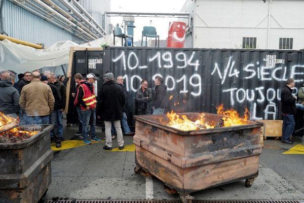 Les salariés de GE Belfort et Bourogne bloquent les sites depuis le mardi 8 octobre.