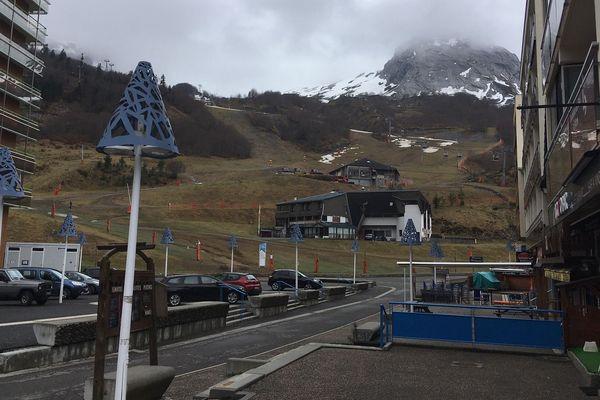 Fin de saison très étrange à Gourette, la station de ski béarnaise est très déserte