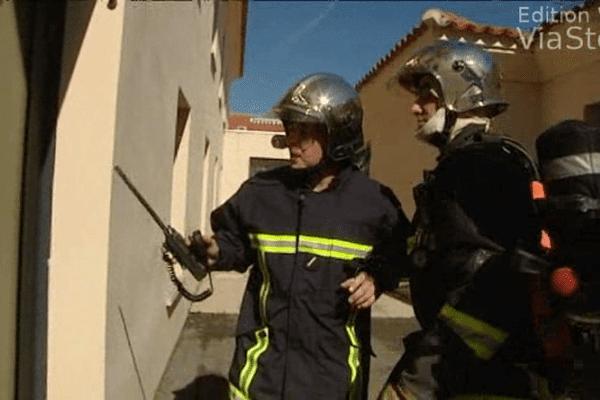 ILLUSTRATION-  Les pompiers peinent à recruter des volontaires