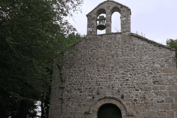 La chapelle de Sainte-Radegonde en Creuse