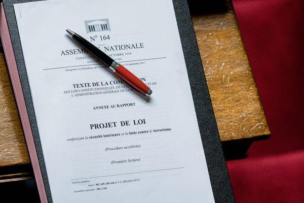 Paris, France 26 septembre 2017 : Séance de Questions au Gouvernement a l'Assemblee Nationale. Texte du Projet de Loi sur la sécurité intérieure et la lutte contre le terrorisme.