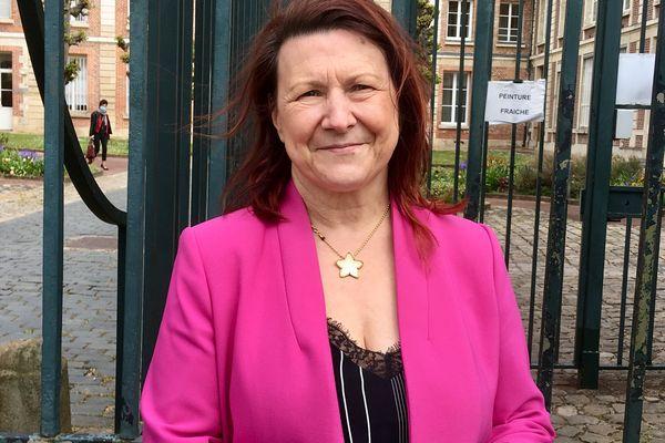 Claire Marais-Beuil, conseillère municipale à Beauvais et conseillère régionale RN