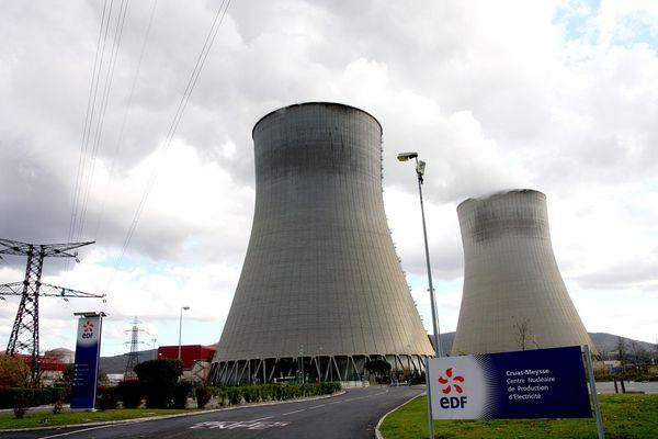 La centrale nucléaire de Cruas-Meysse, en Ardèche, se situe à une quinzaine de kilomètres de l'épicentre du séisme du 11 novembre 2019.