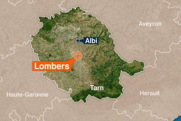 L'accident s'est produit sur la départementale 612 à Lombers, dans le Tarn. Les secours n'ont pas pu sauver la jeune femme.