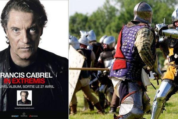 Une chanson sur la bataille d'Azincourt dans le nouvel album de Francis Cabrel.