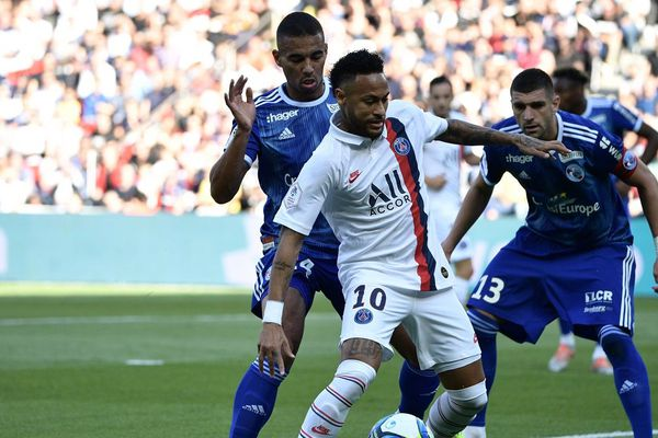 PSG/Strasbourg, l'attaquant Neymar