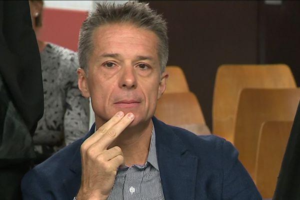 Jean-Christophe Breuil, ex-Pdg de Smoby lors de l'audience au tribunal de Nancy du 30 septembre