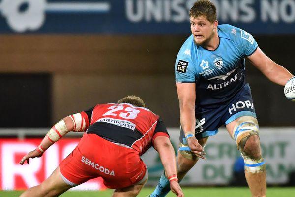 Le deuxième ligne sud-africain de Montpellier Paul Willemse s'est blessé au genou droit,
