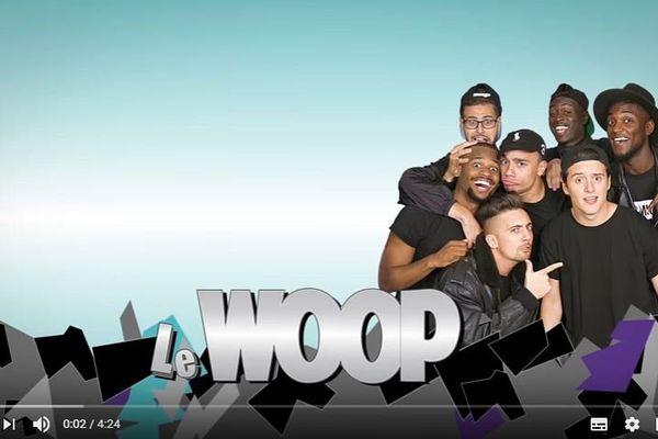 Les sept membres du Woop.