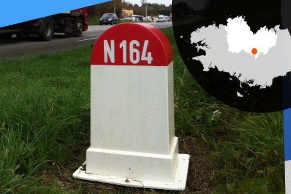 Les routiers, habitués de la N164