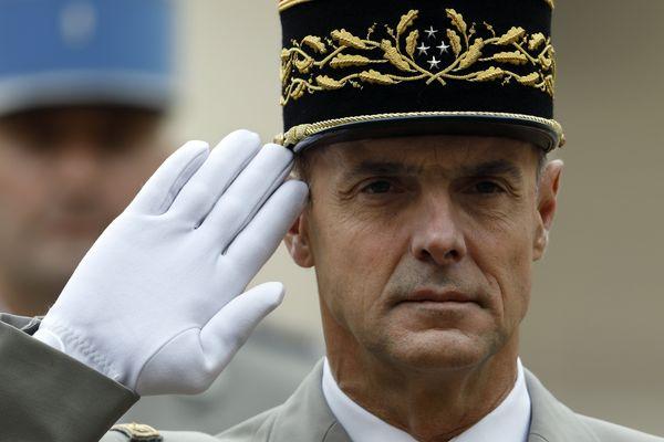 Le général Bruno Le Ray, gouverneur militaire de Paris, en 2017.