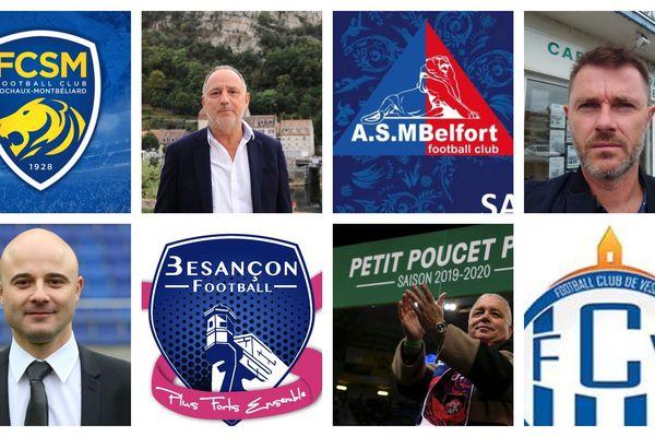 Ce sont quatre des principaux clubs de football de Franche-Comté. Leurs dirigeants nous racontent comment ils ont géré la crise du Covid-19
