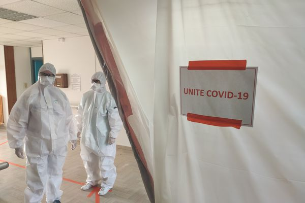 L'unité dédiée au Covid-19 mise en place au centre de rééducation du Finosello, à Ajaccio