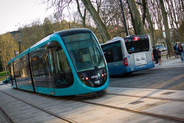 Le réseau de bus et tramway bisontin va être perturbé ce mardi