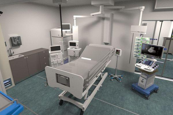 Les chambres de réanimation mobiles conçues par l'entreprise loirétaine.