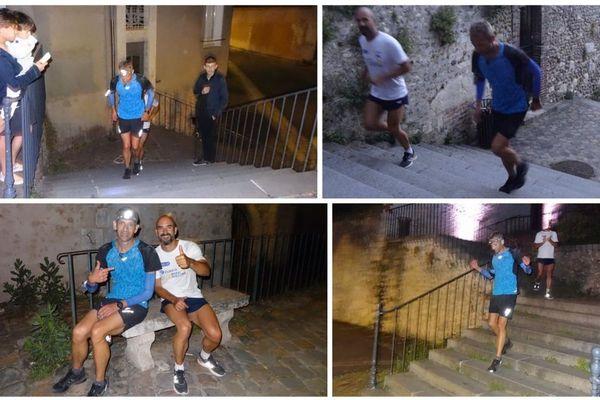 Le coureur a publié sur son compte Facebook quelques photos de son Everesting à Chartres.