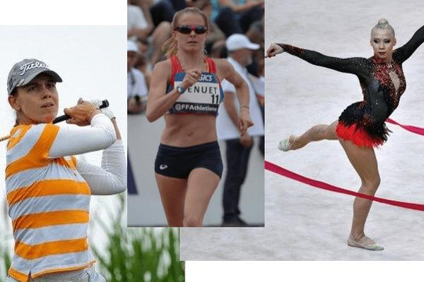 Nos sportifs régionaux en compétition aux #JO2016 le vendredi 19 août : Karine Icher (GOLF), Emilie Menuet (20 km MARCHE) et Kséniya Moustafaeva (GYMNASTIQUE RYTMIQUE)