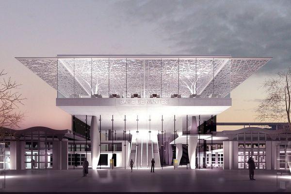 Le nouveau visage de la gare de nantes en 2019