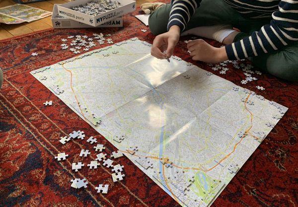 Le puzzle, l'art de la patience, un jeu universel.