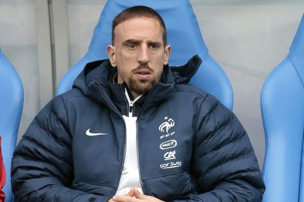 Franck Ribéry lassé d'être le mal-aimé des Français.