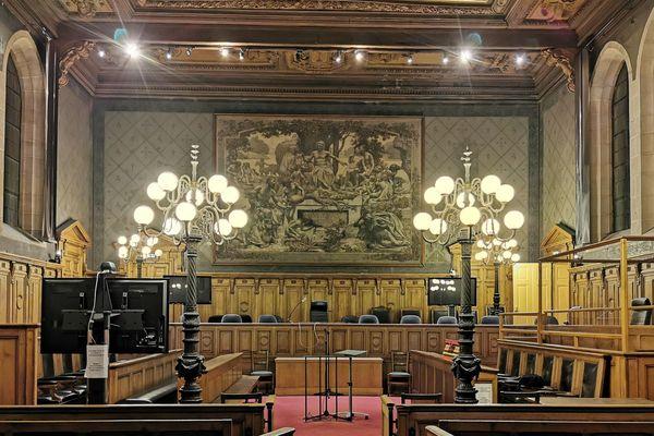 La Cour d'assises de Côte-d'Or, à Dijon.