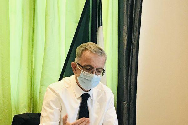 François Bonneau, président de la région Centre-Val de Loire