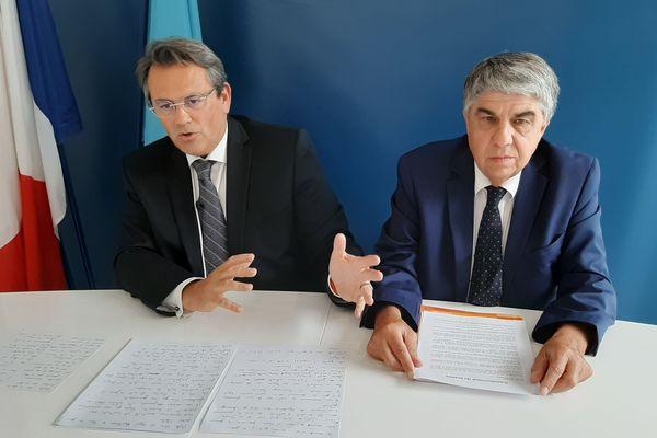 """""""Nos programmes ont beaucoup de points communs. Àforce de discussions, nous avons trouvé un accord"""", explique Patrice Novelli."""
