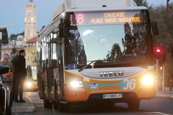 Les transports en commun seront fortement perturbés sur la Côte d'Azur.