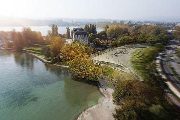 Un avis qui jette le flou sur le projet de l'agglomération, joliment modélisé par son architecte.