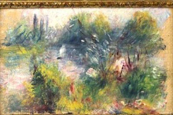 Anne-Norton Craner, experte en ouvres d'art (Potomack Company, U.SA.) a identifié ce tableau comme une oeuvre de Renoir