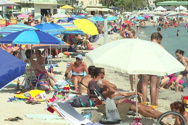 Les distances se resserrent sur les plages au fur et à mesure de la journée.