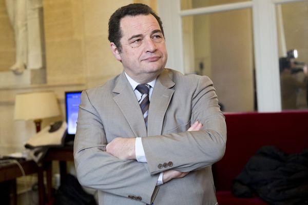 Jean-Frédéric Poisson, à l'Assemblée nationale.