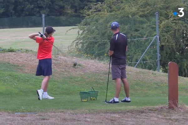 Le green du Besançon club golf, le 14 août 2020.