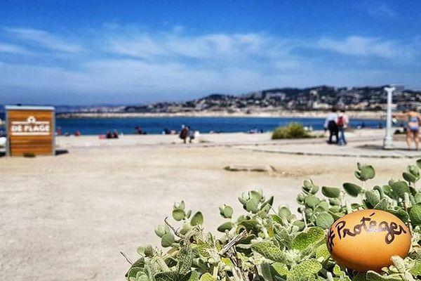 Une chasse aux oeufs de Pâques originale à Marseille.
