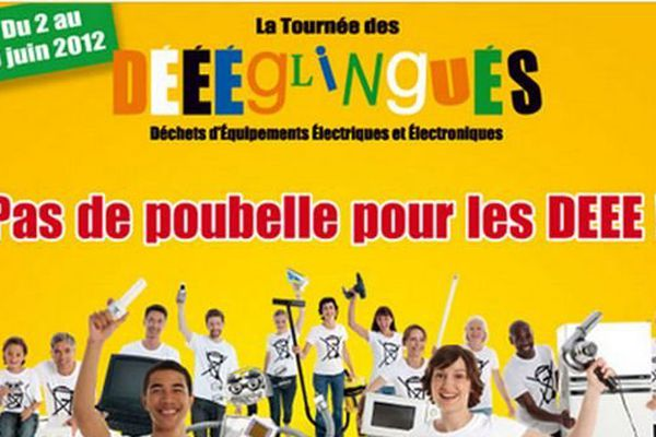 La tournée des Déglingués organise sa collecte du 3 au 6 juin 2013