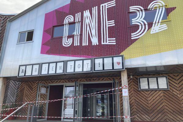 Ciné 32 n'est plus en capacité d'accueillir du public, depuis l'incendie qui a ravagé une partie de ses locaux. août 2021.