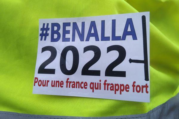Petit clin d'oeil aperçu lors de la manifestation régionale des gilets jaunes à Lyon samedi 2 mars.