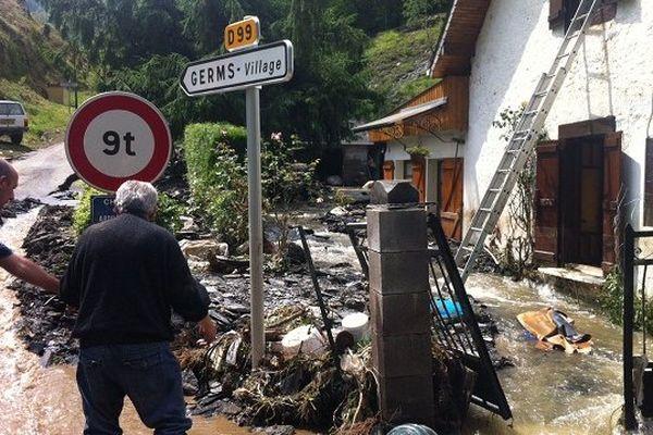 La victime a été retrouvée dans la commune de Germes.