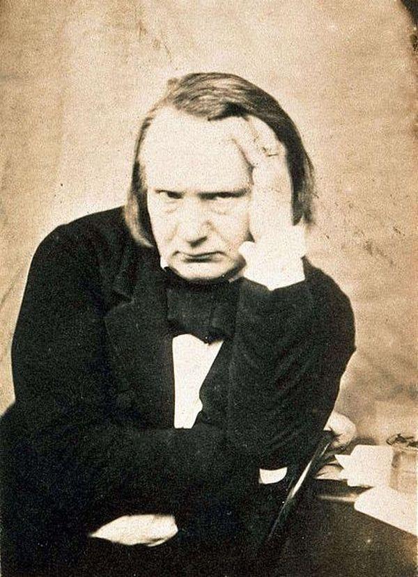 Reproduction d'un portrait de Victor Hugo, photographié vers 1853 (auteur inconnu).