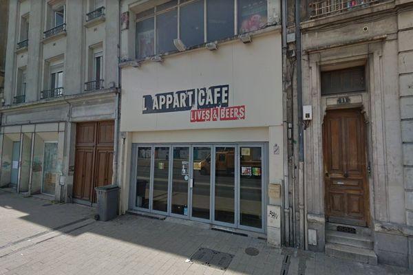 L'Appart Café était connu pour ses nombreux concerts.