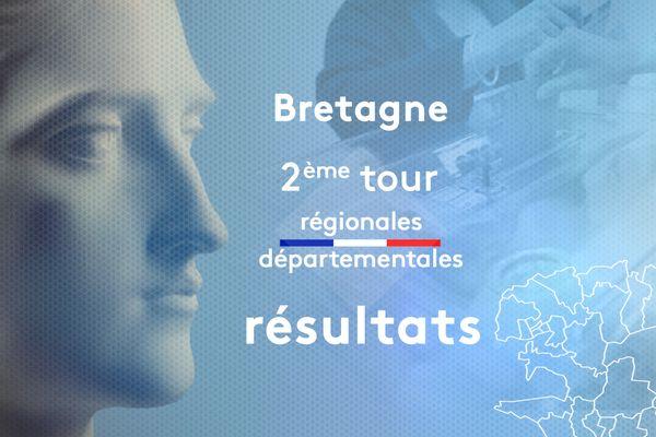 Retrouvez tous les résultats pour le 2ème tour des élections régionales et départementales 2021 en Bretagne