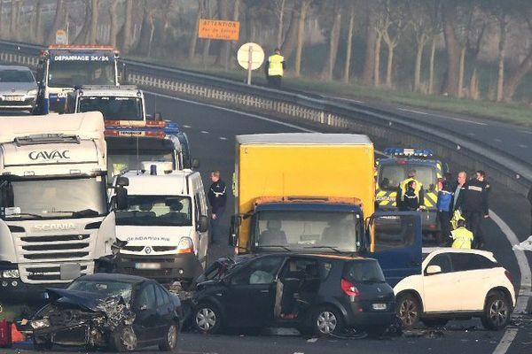 Le carambolage en Vendée du 20 décembre 2016 a fait 5 morts