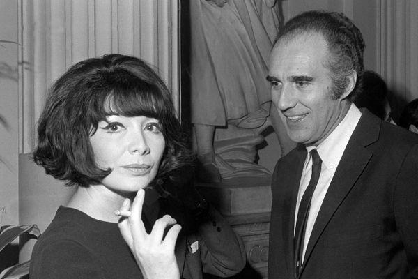 Juliette Greco et Michel Piccoli s'étaient mariés en 1966 à la mairie de Verderonne (ici à Paris l'année suivante).