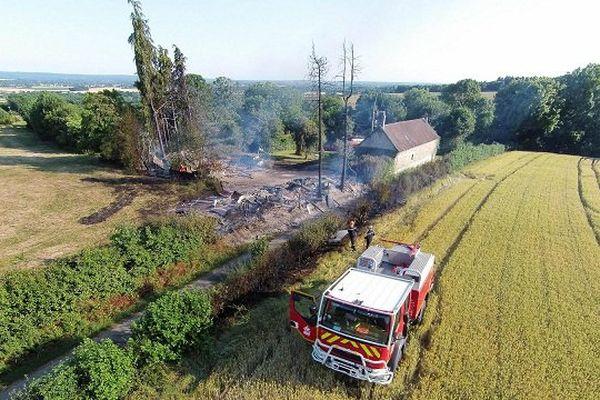 La lutte contre les feux de végétations a commencé tôt ce matin.