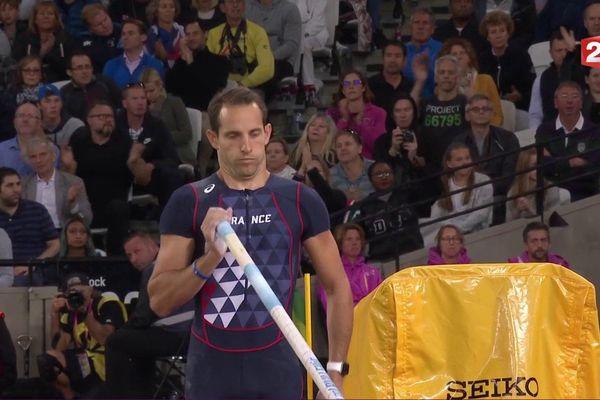 Renaud Lavillenie aux Championnats du Monde d'athlétisme de Londres