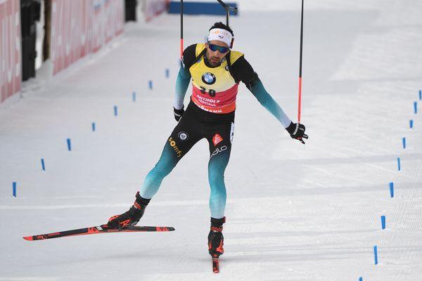 Italie - Onzième titre mondial dans des courses individuelles pour Martin Fourcade - 19 février 2020.